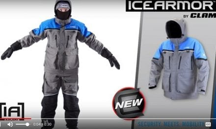 Best Float Suit on Ice the Ascent Float Parka and Bibs by Clam Outdoors