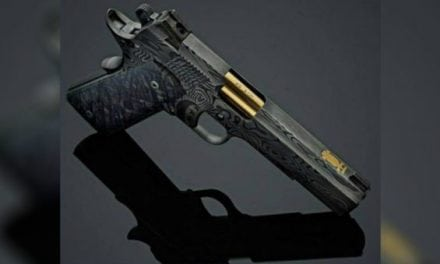 Cabot Unveils Matching Left and Right 1911s Made Completely of Damascus