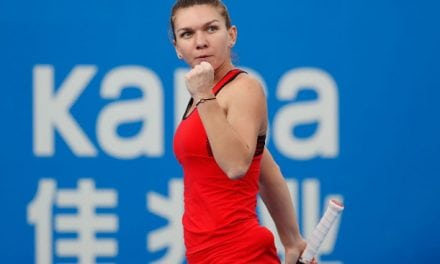 Halep: I Buy Match Clothes Online