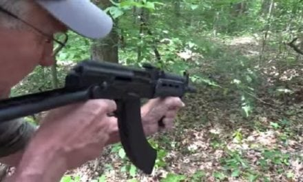 Hickok45 Blasts Away with a Full-Auto Draco AK-47