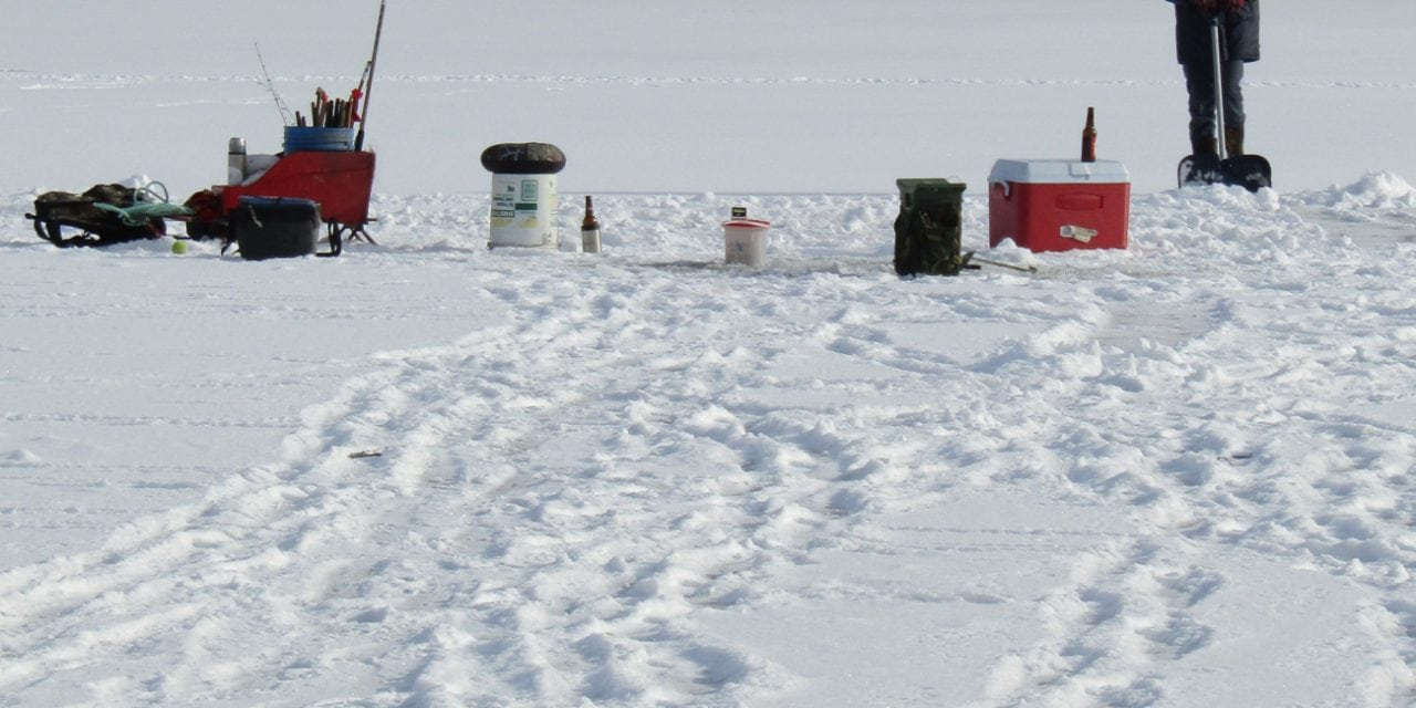 Ice fishermen are, well, different