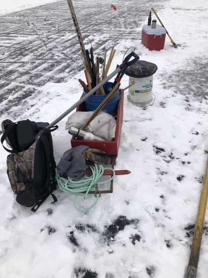 A good day on the ice
