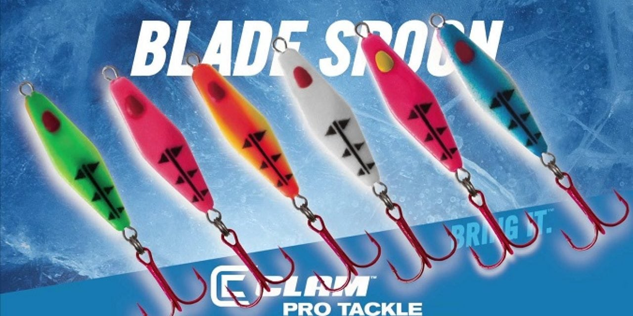 Ice Fishing Lure Video: Rattlin Blade Spoon-Video