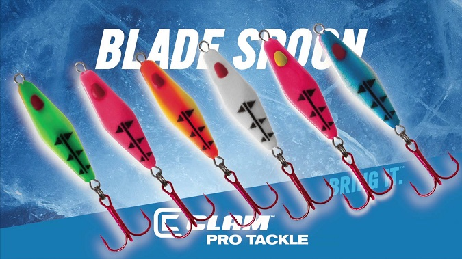 Clam Pro Tackle Rattlin Blade Spoon