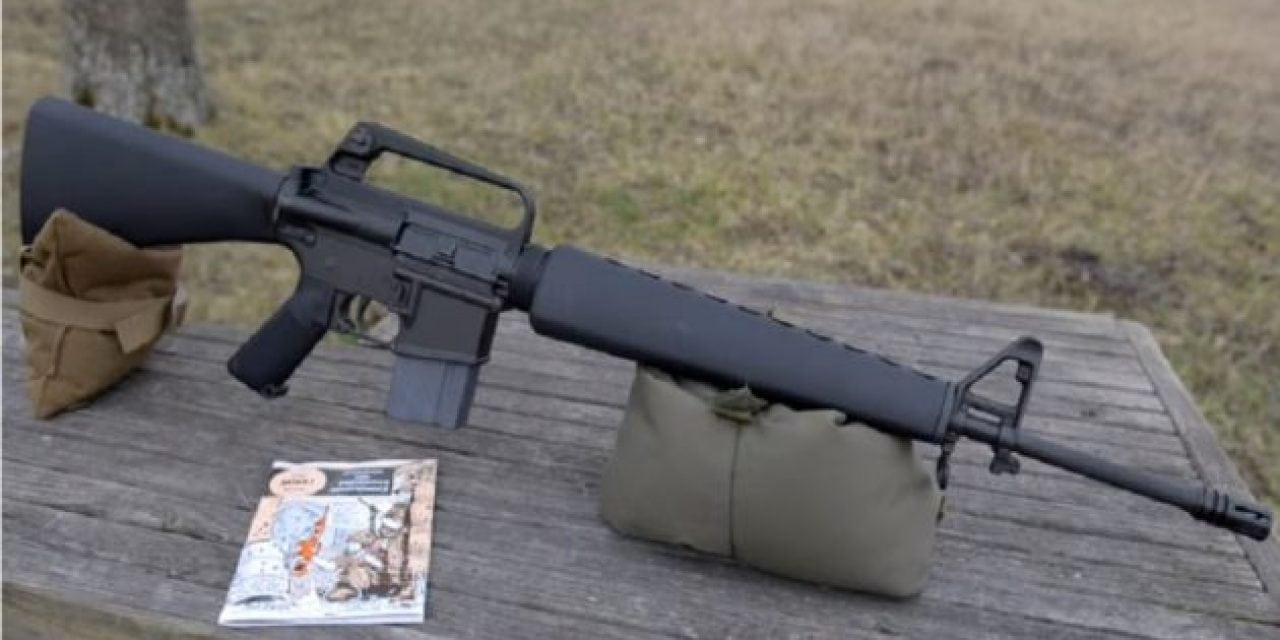 SHOT Show 2018: Brownells Retro M16A1 Rifle Revealed