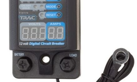TRAC 12v Digital Circuit Breakers with Display