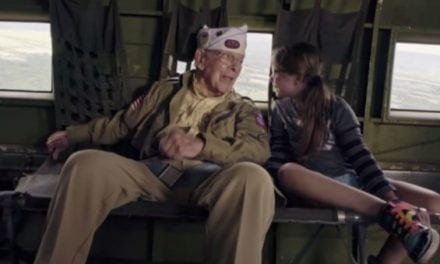 Video: WWII Veteran Rides in the Same Plane He Jumped Out of on D-Day
