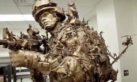 "Video: You Need to See the ""At Their Core"" Fighting Marines Sculpture"