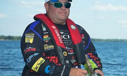 Yamaha Pro Bill Lowen Uses Three Lures in Shallow, Well-Defined Places