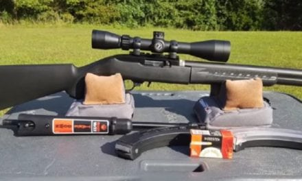 YouTuber 22plinkster Checks Out the Ruger 10/22 Takedown Silent SR Rifle