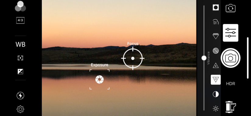 Enhancements are available in ACDSee Pro For iOS Camera Mode
