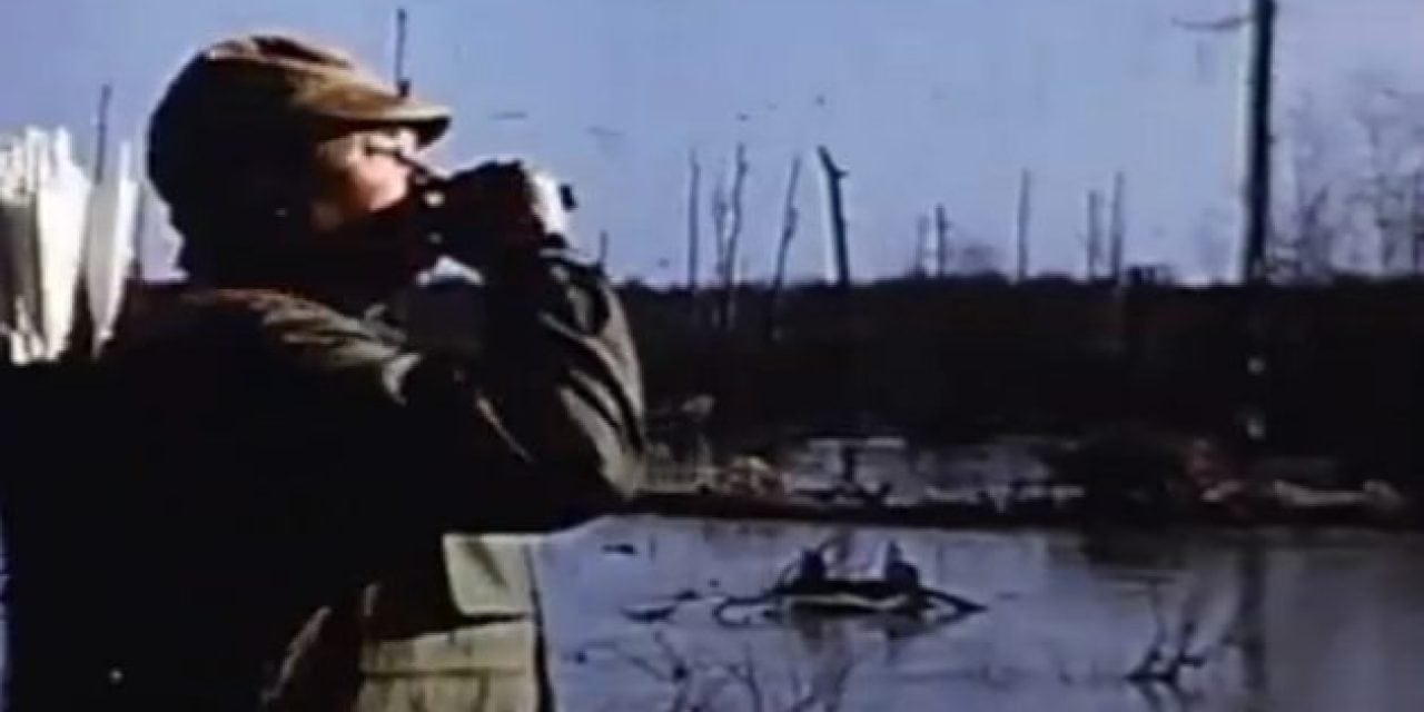 Ben Pearson Arrows Flying Ducks in This Great Vintage Video