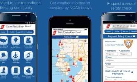 Coast Guard Mobile App for Recreational Boaters