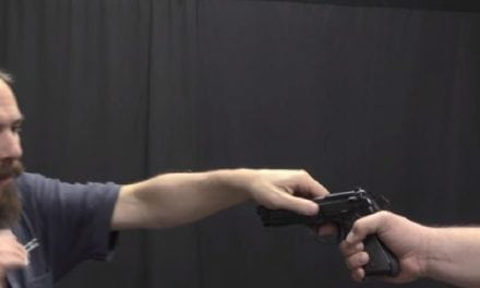 Ian From Forgotten Weapons Tries Out a Jet Li Hollywood Beretta Pistol Maneuver
