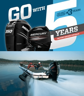 Mercury Marine announces 2018 Go With 5 outboard promotion
