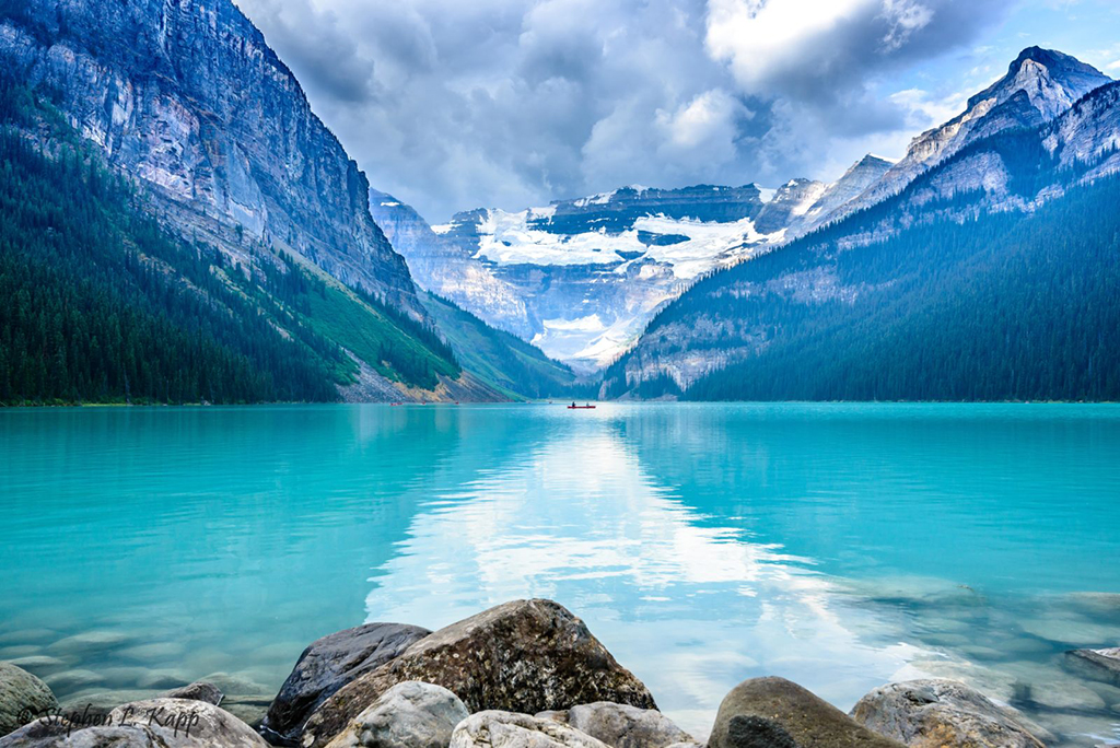 "Today's Photo Of The Day is ""Lake Louise"" by Stephen Kapp."