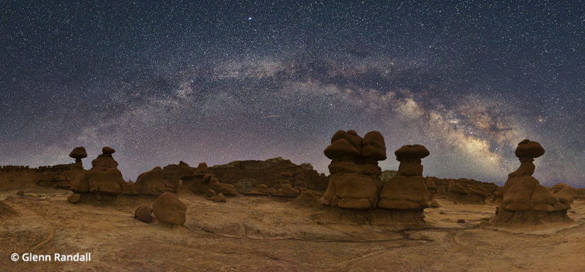 processing night photography goblin valley state park