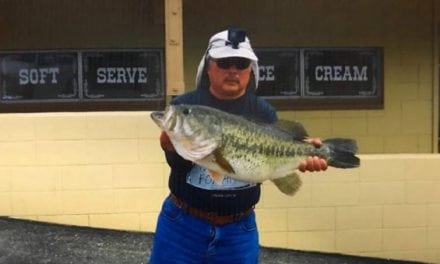 Shore Angler Tries for Trout, Lands 15.46-Pound Lunker Largemouth