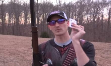 Video: 22plinkster Pays Tribute to Annie Oakley with an Insane Trick Shot