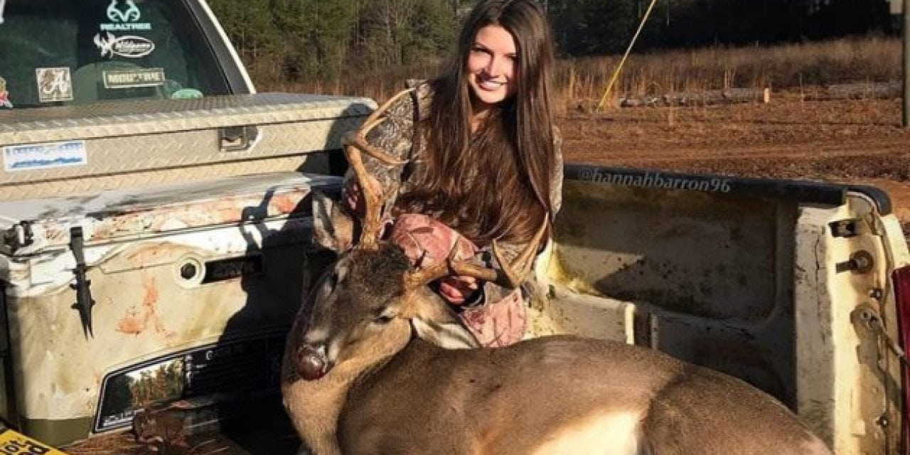Video: Hannah Barron and Her Dad Team Up for a Late-Season Buck