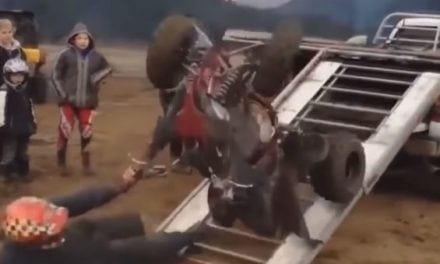 Video: Here's How NOT to Load Your Snowmobile or ATV