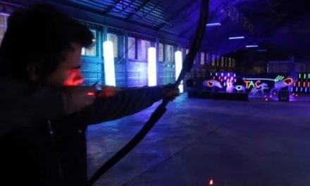 Video: Yes, Glow Archery is Actually a Thing