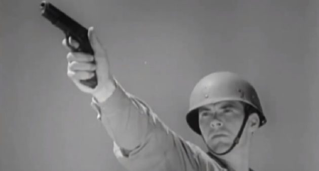 You Have to See This Vintage Footage of the Famous 1911 Pistol