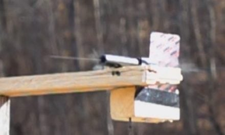 22plinkster Shoots Through Glock 19 Barrel to Split a Playing Card