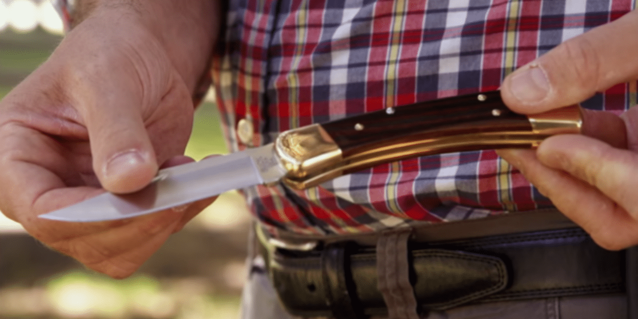 How the Iconic Buck Model 110 Folding Hunter Knife is Made