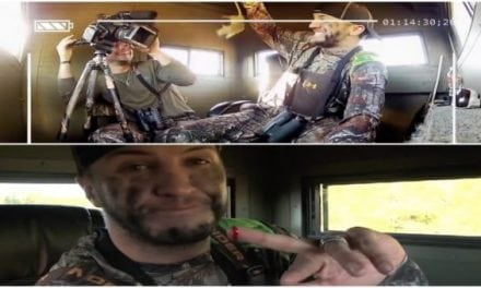 Luke Bryan Gets Pranked with a Sewer Rat in the Hunting Blind and It Gets Bloody