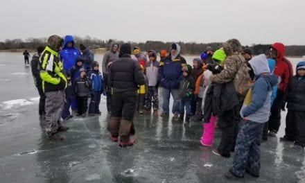 NPAA and FAF Support Scout Ice Fishing at Camp Oh-Da-Ko-Ta, Burlington, WI