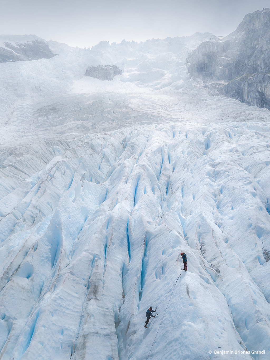"Today's Photo Of The Day is ""Glacier Climbing"" by Briones Grandi. Location: Leones Glacier, Coyhaique, Chile."