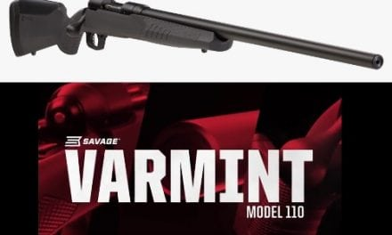 Savage Model 110 Varmint with AccuFit
