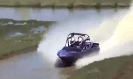 This Little Jet Boat Sure Can Move