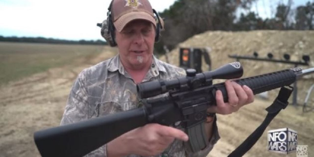 Video: Ted Nugent Shoots Down the AR-15 Hype