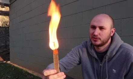 Video: The Crazy Russian Hacker Tests Out Some Seriously Impressive Firestarters
