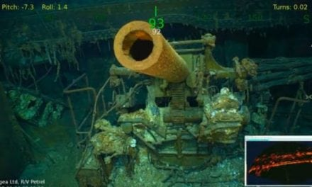World War II Aircraft Carrier USS Lexington Discovered 76 Years After It Was Lost