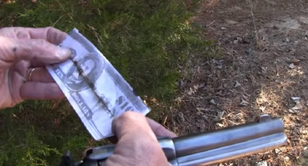 burying money in your revolver chamber