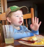 Little Boy Gives Directions to Hunting Spot