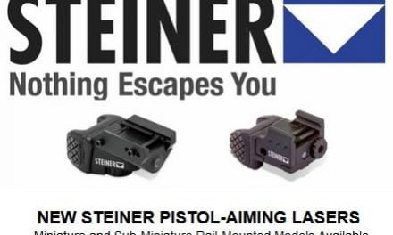 NEW STEINER PISTOL-AIMING LASERS