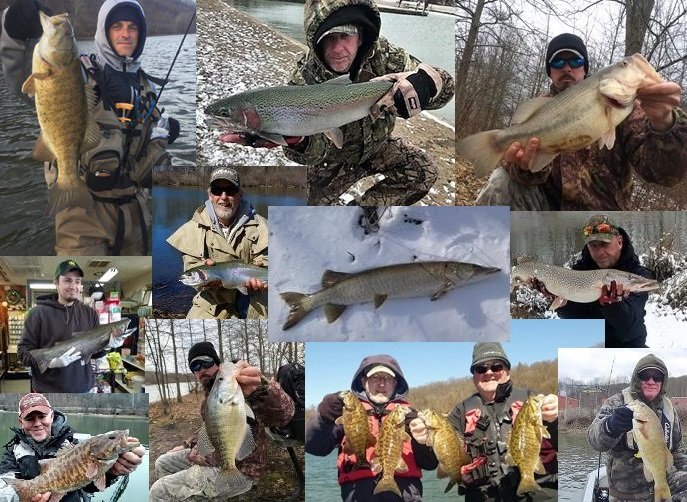 Nw pa fishing report for late march 2018 outdoor for Pa fish records