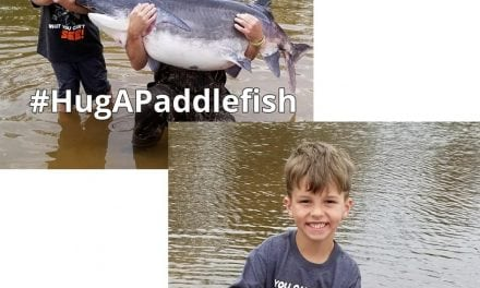 Oklahoma Youngster Catches Two Prehistoric Fish