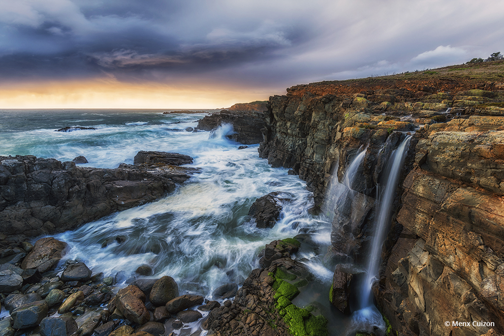 "Today's Photo Of The Day is ""Coastline Sunset"" by Menx Cuizon. Loctation: Sonoma Coastline, California."