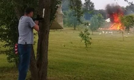 Remember When Shooting a Refrigerator Filled with Tannerite Went Wrong?