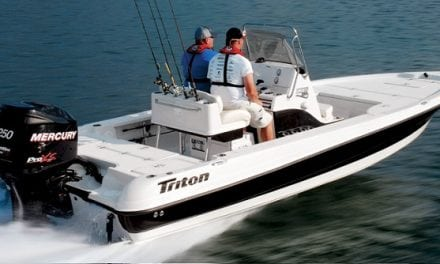 Triton Expands Light Tackle Series with New 22-Footer