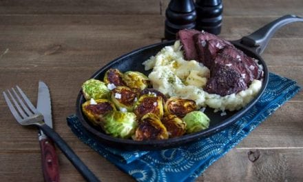 Venison Steaks with Lemon and Herb Seasoning