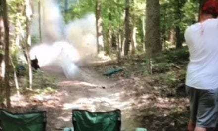 Video: Tannerite Shooting Gone Wrong