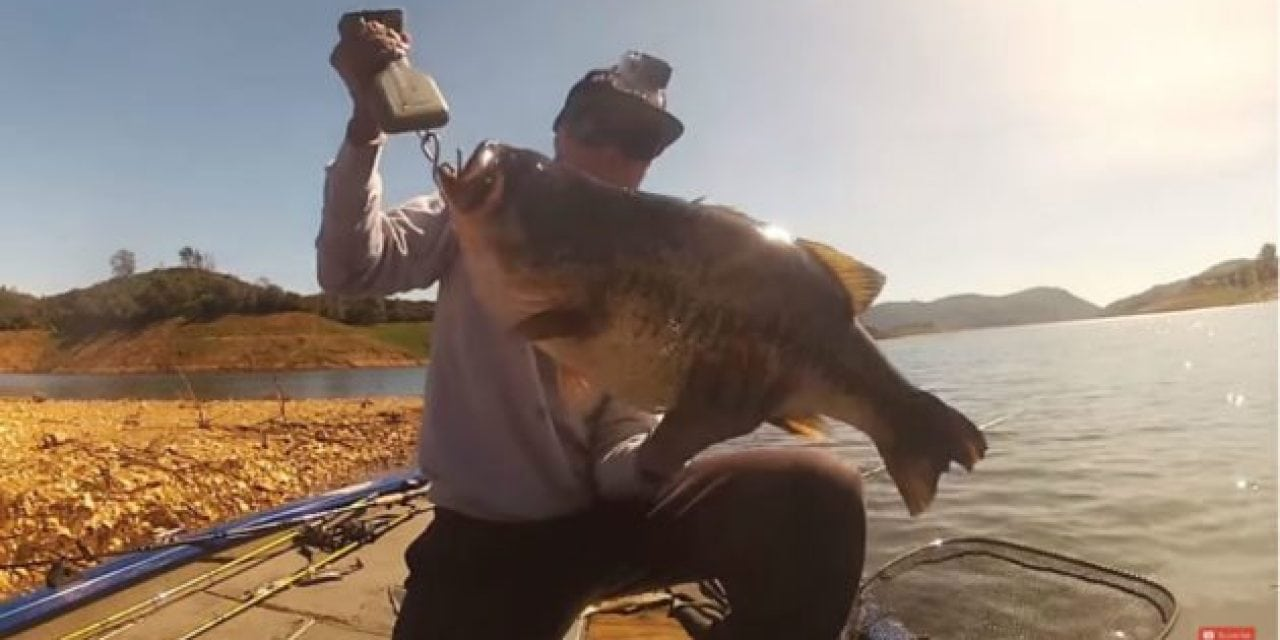 Video: Watch This Guy Hook and Land a 17-Pound Bass