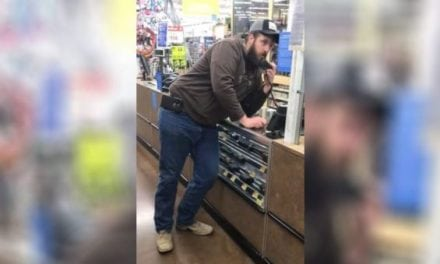 Walmart Customer Takes Matters into His Own Hands
