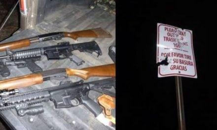 Washington Fish and Wildlife Officers Caught Three Sign Shooters Red-Handed